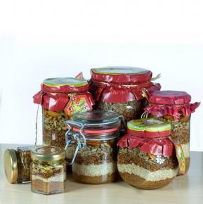 Miere cu semințe